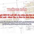 Đấu giá QSD 82 suất đất ngày 07/02/2021 tại xã Minh Tân, Phù Cừ, tỉnh Hưng Yên